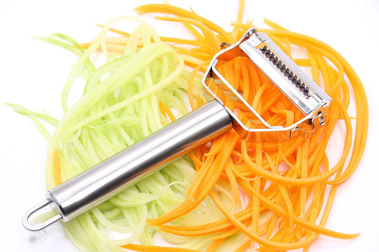 Stainless Steel Peeler & Cutter - Choisify