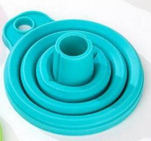 Silicone Foldable Funnel (2pcs) - Choisify