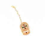 Rajputi Borla Mangtikka studded with Pearl Stone for women