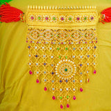 Antique Traditional Rajasthani Gold Plated AD Work Timaniya Aad