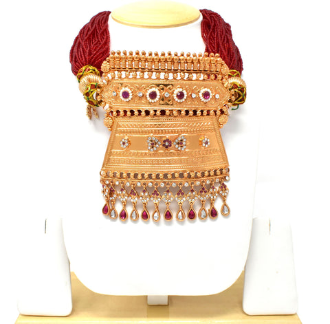 Royal Rajputi Marron Timaniya Aad give Exclusive Rajputana Look