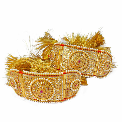Royal Rajputi Golden Bajuband