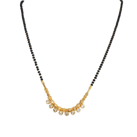Trendy Gold Plated Daily Wear Mangalsutra