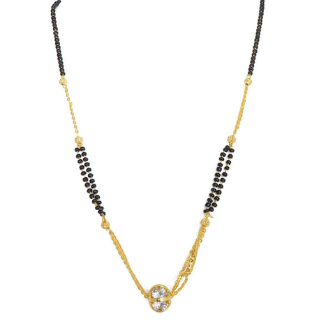 Attractive Gold Plated Mangalsutra for women