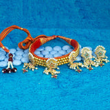 Rajasthani Bead Kanthi Choker Set for Women