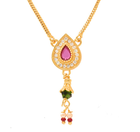 Fashionable Gold Plated Delicate Neckpiece