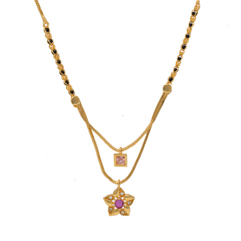 Trendy Two Step Mangalsutra Design