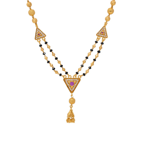 Luxurious Dual String Mangalsutra Design
