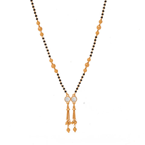 Charming Gold Plated Mangalsutra for Womens