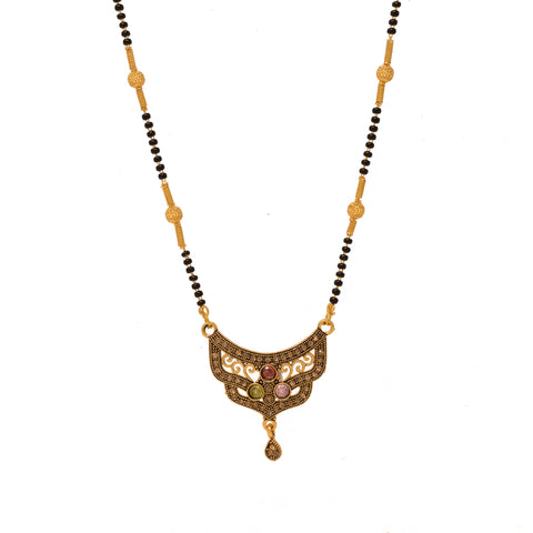 Antique Design Gold Plated Mangalsutra
