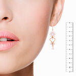 Meira Jewellery CZ Studded Trendy Earring for Women & Girls