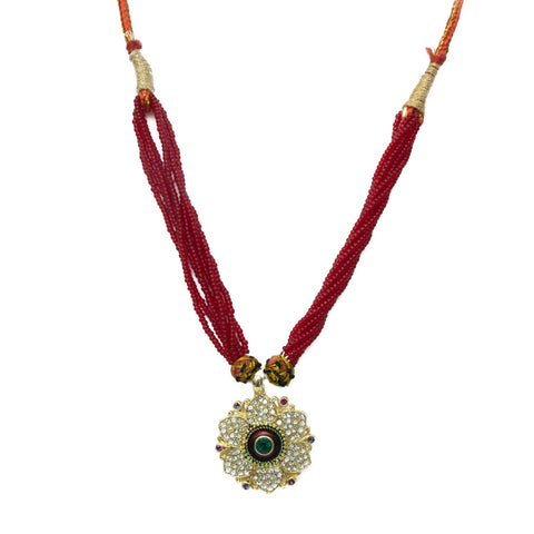 Rajasthani Bead Pendal Set for Women