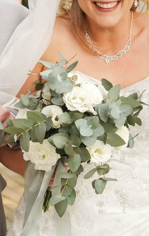 Bridal Bouquet | Stylish Lisianthus Bouquet | Floral Designer| Gauteng