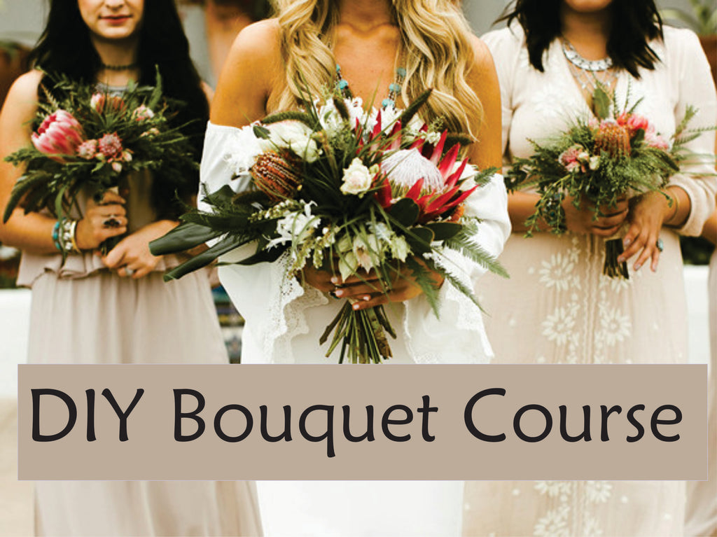 DIY Bridal Bouquet Course