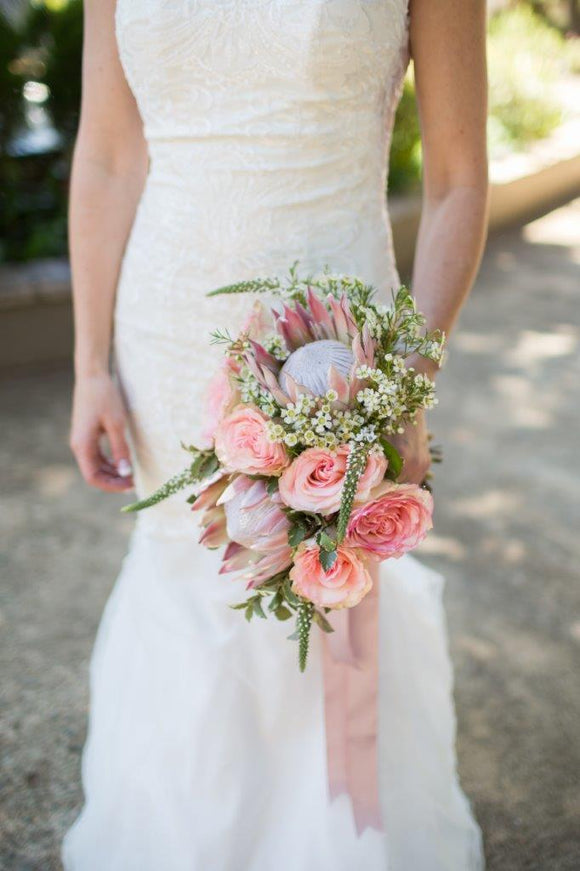 Bridal Bouquet | Stylish Bouquet | Protea Bridal Bouquet | Flowers Direct