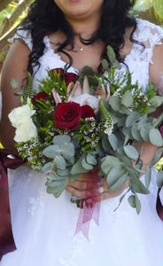 Bridal Bouquet | King Protea Bouquet | Floral Designer | Flowers Direct