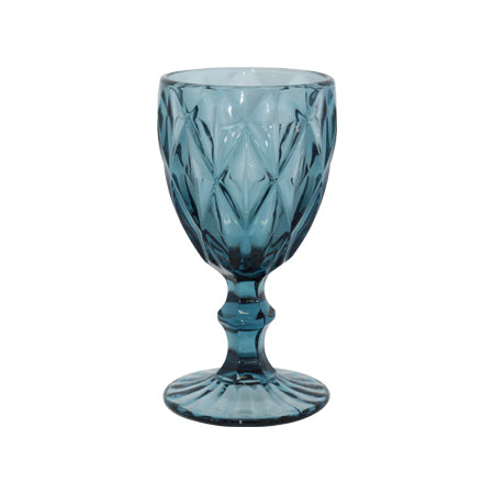 Decor Hire | Blue Wine Glass | Flowers Direct | Gauteng