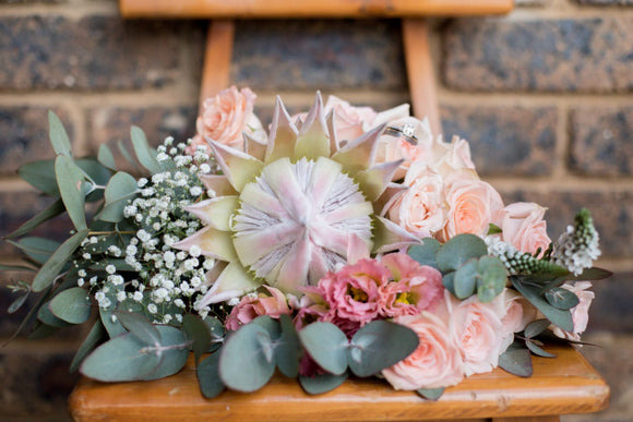 Bridal Bouquet | Stylish Protea Bouquet | Floral Designer| Gauteng