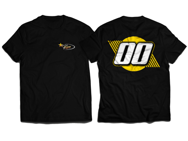 NEW StarCom Racing Logo T-Shirt Black