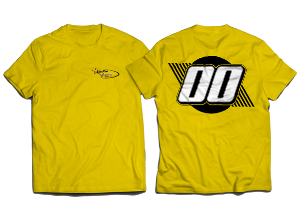 New StarCom Racing Logo T-Shirt Yellow