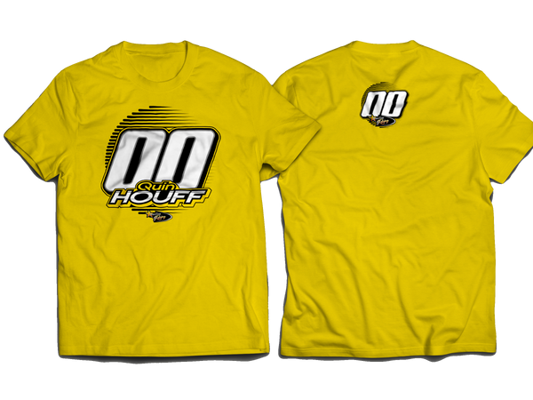 Quin Houff StarCom Racing T-Shirt YELLOW