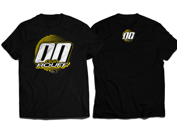 Quin Houff StarCom Racing T-Shirt BLACK