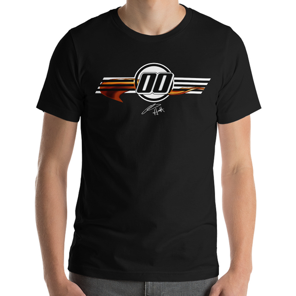 StarCom Racing Quin Houff 8-Ball Whiskey T-Shirt