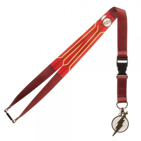 DC Comics Flash Suit Up Lanyard - GeekaPeek