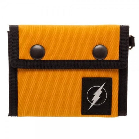 Flash Fabric Tri-Fold Snap Wallet - GeekaPeek