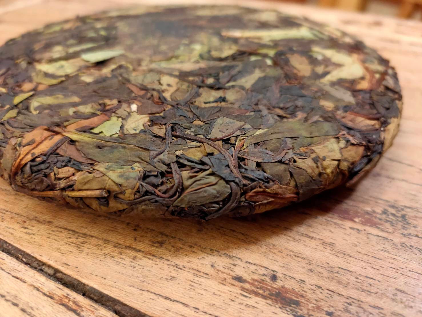 White Mountain -- Taiwanese Old Growth White Tea Cake