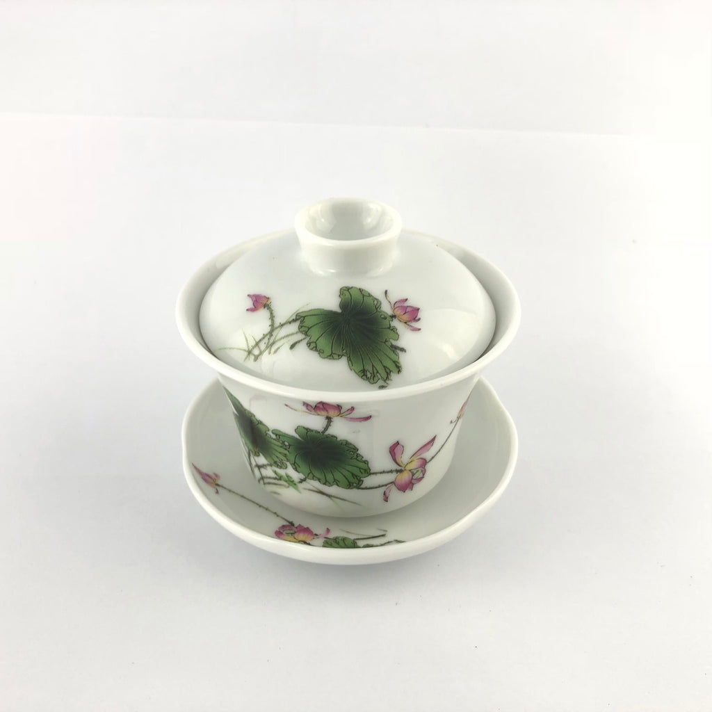 120ml Pink Lotus Flower Gaiwan