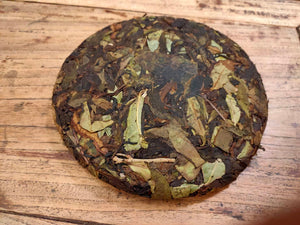 Mountain White -- Taiwanese Old Growth White Tea Cake