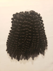 Brazilian Afro Kinky Curly Clip-In Extensions