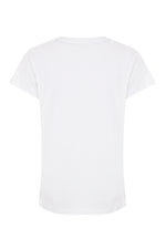 Luxe + Hardy | womens white t shirt | White t-shirts | Top loungewear brands | Loungewear you can wear out