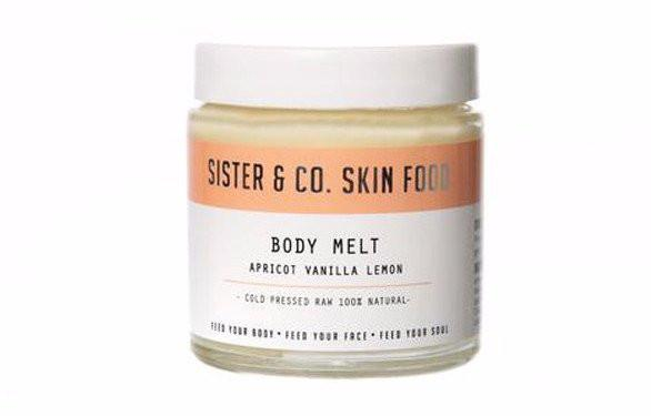 Apricot, Lemon & Vanilla Body Melt 120g