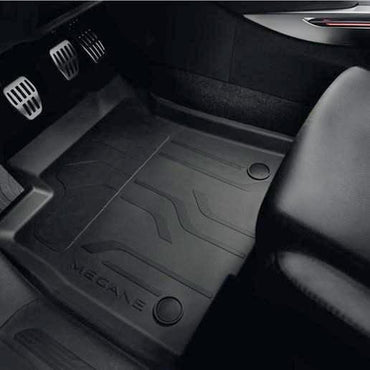 Renault Rubber floor mat with raised edges
