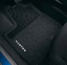Dacia Duster II Comfort Textile Floor Mats With Under Seat Drawer