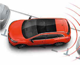 Renault Kadjar Rear Parking Sensors