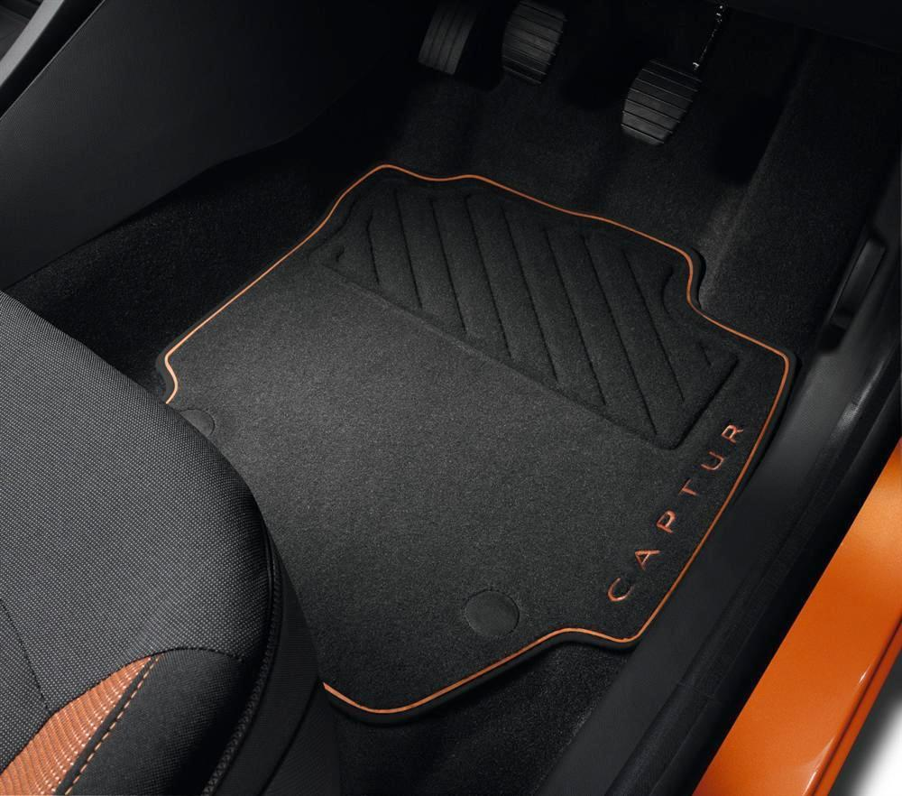 Renault Captur Premium Orange Mats