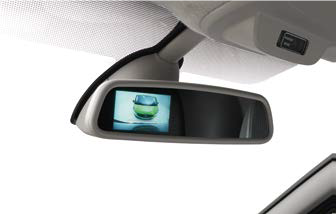Renault Trafic III Rear View Camera