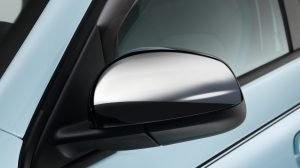 Renault TWINGO Chrome mirror caps