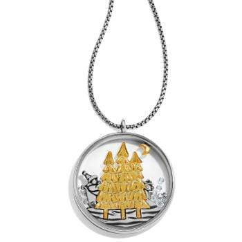 Santa's Sleigh Shaker Convertible Necklace Jewelry Brighton Products