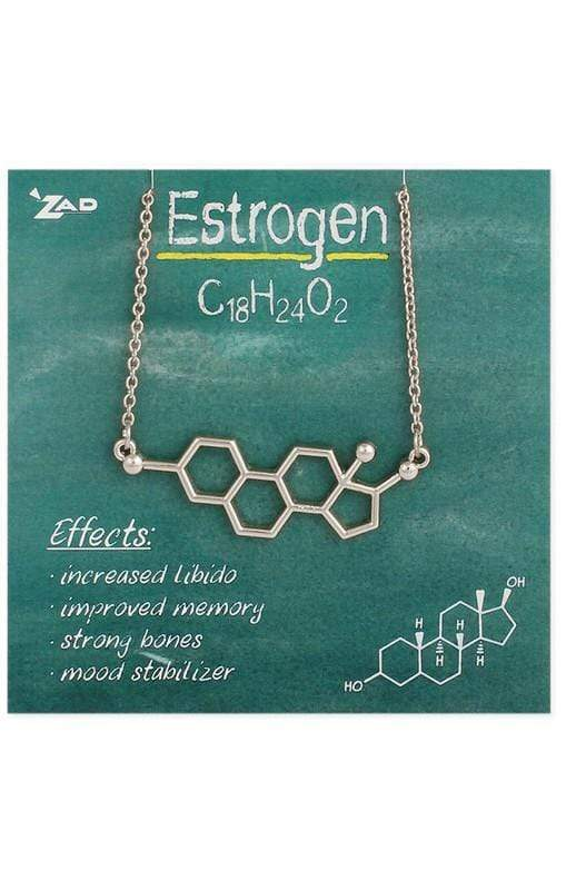 Show ultimate pride in your femininity! Estrogen Necklace! Jewelry Sassy Fox Boutique, Inc