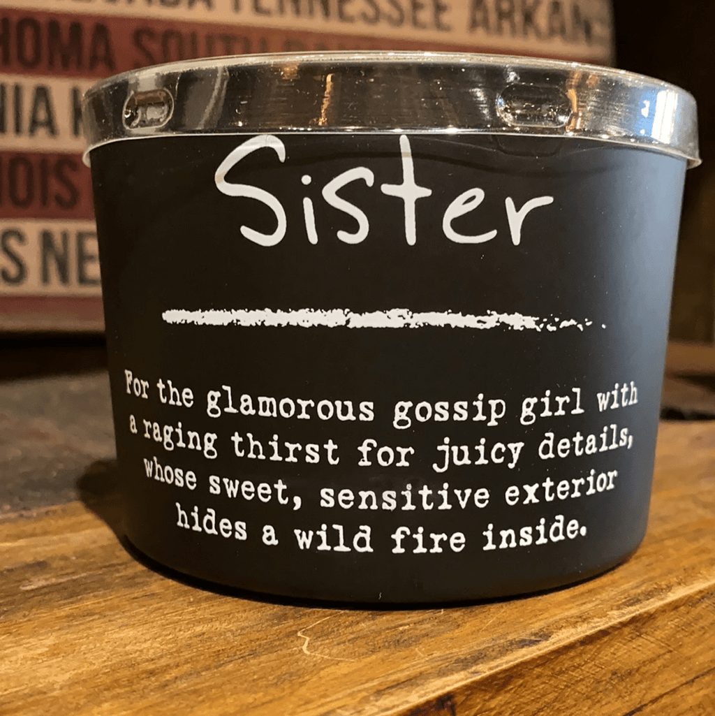 Sister Wood wick candle Sassy Fox Boutique, Inc