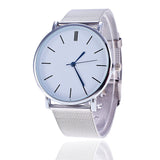 Steel Woven Clean Ladies Watch