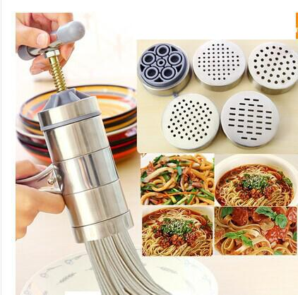 Stainless Steel Manual Pasta Press