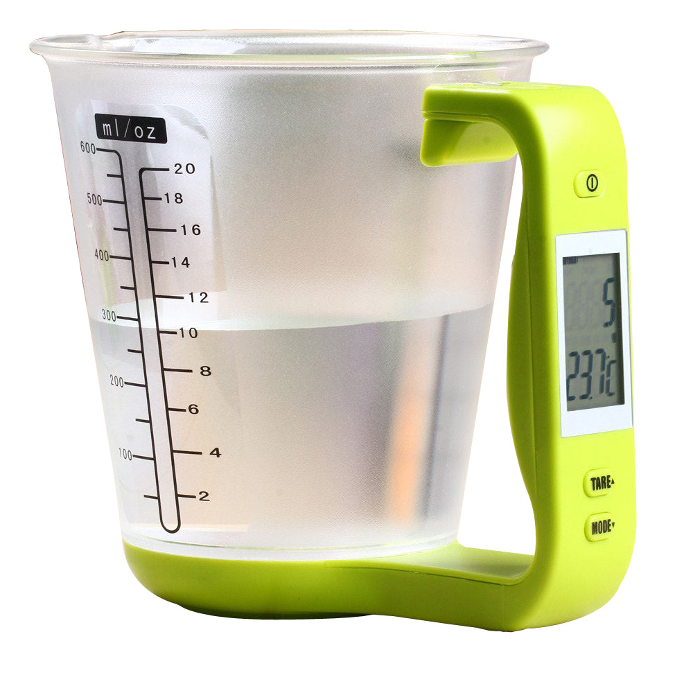 Digital Measuring Jug - Temp & Weight