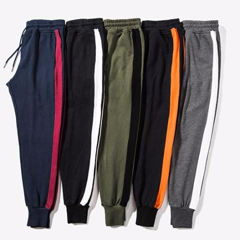Single Striped Joggers