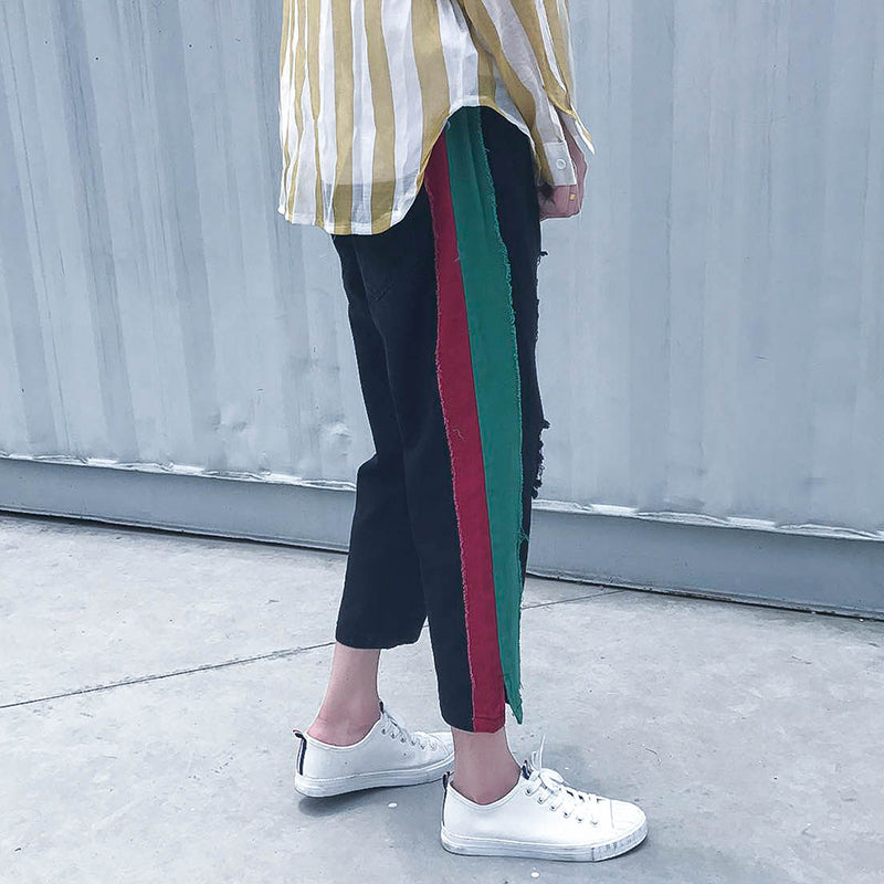 Double Striped Pants