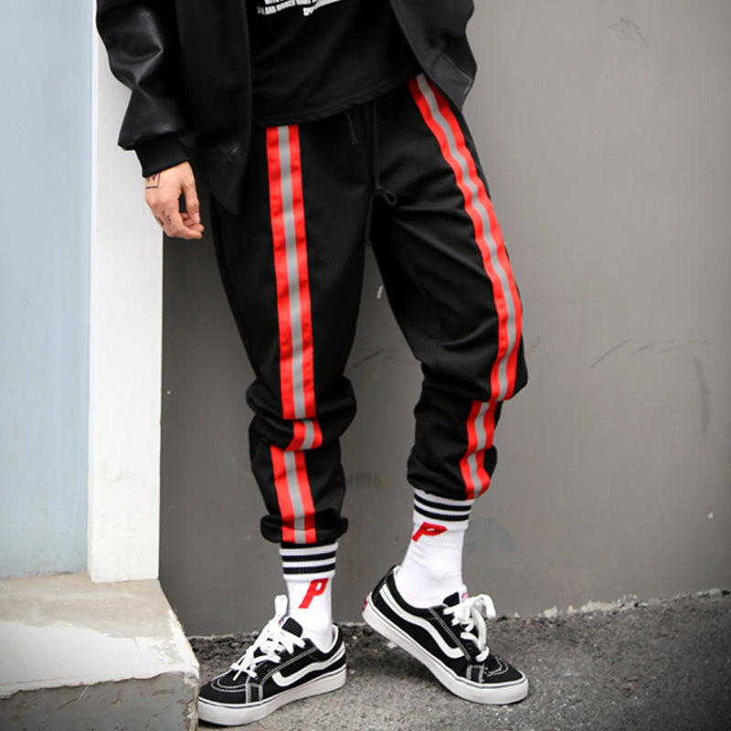 Tri Stripe Cropped Trackpants